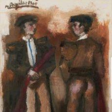 Arte: RAMON AGUILAR MORÉ TOREROS. Lote 158165174