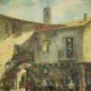 Arte: LLOPART. PINTURA AL OLEO FIRMADA 60,5 X 50 CM. Lote 158475278