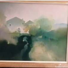 Arte: CUADRO OLEO DEL PINTOR ALBERT LLUCH BAYA. Lote 158479596