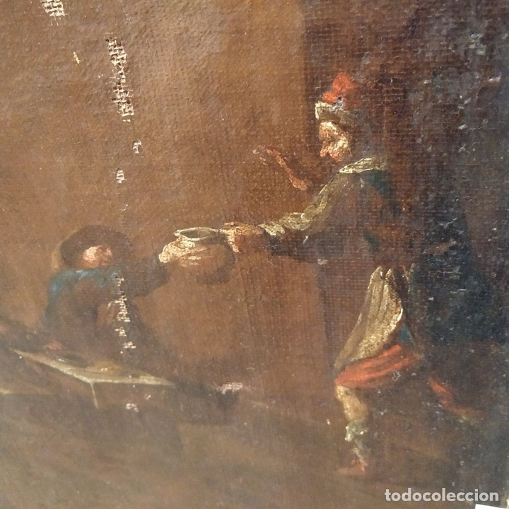 Arte: PAISAJE CON RUINAS. ÓLEO SOBRE LIENZO. ESCUELA ITALIANA. ITALIA. XVII-XVIII - Foto 21 - 158525874