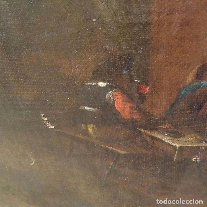 Arte: PAISAJE CON RUINAS. ÓLEO SOBRE LIENZO. ESCUELA ITALIANA. ITALIA. XVII-XVIII - Foto 22 - 158525874