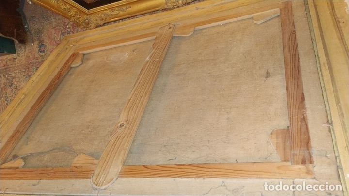 Arte: PAISAJE CON CAMPESINOS. ÓLEO SOBRE LIENZO. ESCUELA ITALIANA. ITALIA. XVIII-XIX - Foto 21 - 158532262