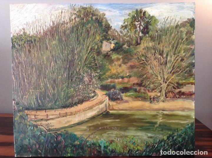 PINTURA PAISAJE VALLVIDRERA (Arte - Pintura - Pintura al Óleo Contemporánea )