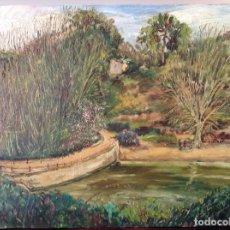 Arte: PINTURA PAISAJE VALLVIDRERA. Lote 154994950