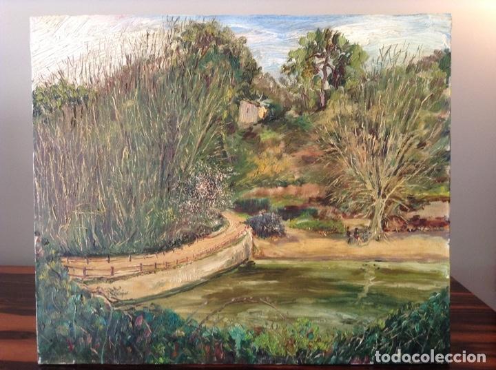 Arte: Pintura paisaje Vallvidrera - Foto 2 - 154994950