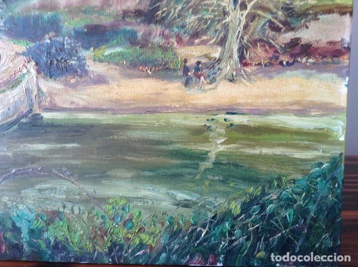 Arte: Pintura paisaje Vallvidrera - Foto 4 - 154994950