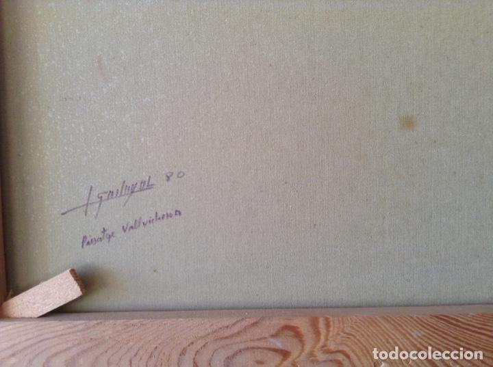 Arte: Pintura paisaje Vallvidrera - Foto 7 - 154994950
