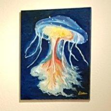 Arte: OLEO SOBRE LIENZO, OBRA ORIGINAL DE CATALINA FRANCO .MEDUSA. Lote 158602170
