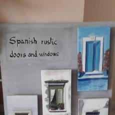 Arte: PUERTAS Y VENTANAS ANTIGUAS ANDALUZAS. Lote 158617602