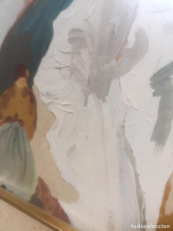 Arte: Pintura pintada sobre papel/cartón firmada V.F - Foto 5 - 158670838
