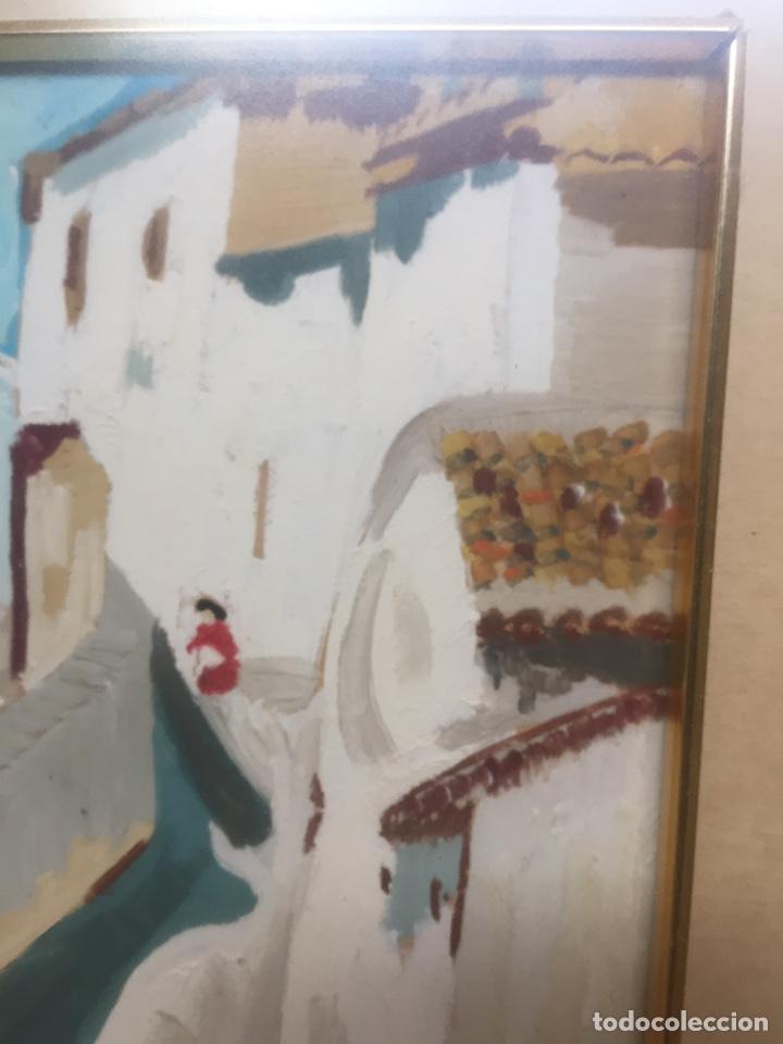 Arte: Pintura pintada sobre papel/cartón firmada V.F - Foto 7 - 158670838