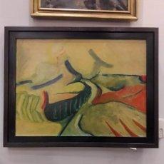 Arte: O/L PAISAJE FIRMADO POR DOMINGO CRIADO (1935-2007). Lote 158721986