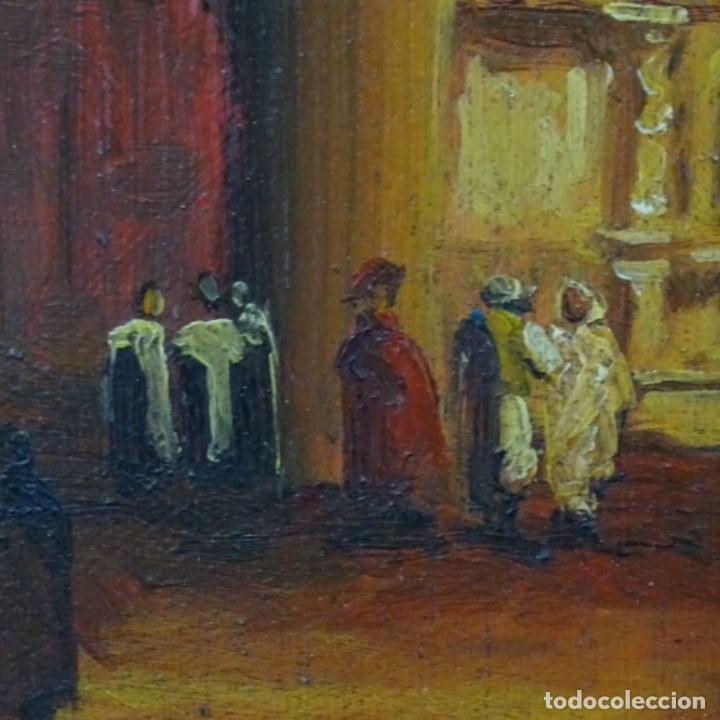 Arte: Óleo sobre tabla firmado Zambrano.bien enmarcado. - Foto 3 - 158751466