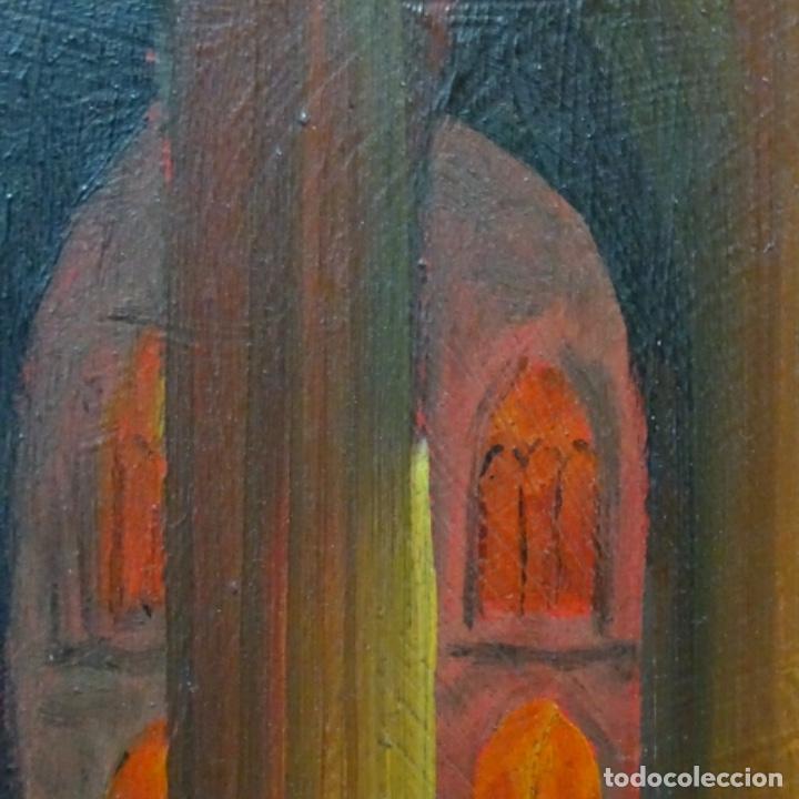 Arte: Óleo sobre tabla firmado Zambrano.bien enmarcado. - Foto 4 - 158751466