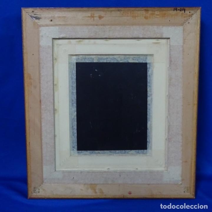 Arte: Óleo sobre tabla firmado Zambrano.bien enmarcado. - Foto 8 - 158751466