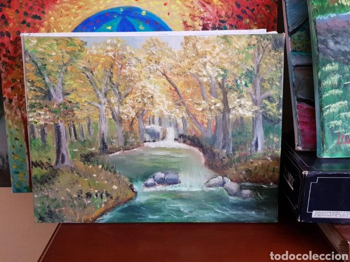 Arte: Obra original Catalina Franco Paisaje Oleo sobre Lienzo en bastidor 30x40 cm - Foto 5 - 158794485