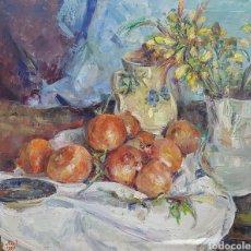 Arte: GEORGES STEEL BODEGON DE GRANADAS. Lote 158799061