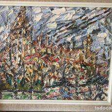 Arte: CUADRO DE JOSÉ MARÍA DE LA PUERTA. Lote 158890381