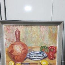 Arte: ÓLEO BODEGÓN. Lote 158966261