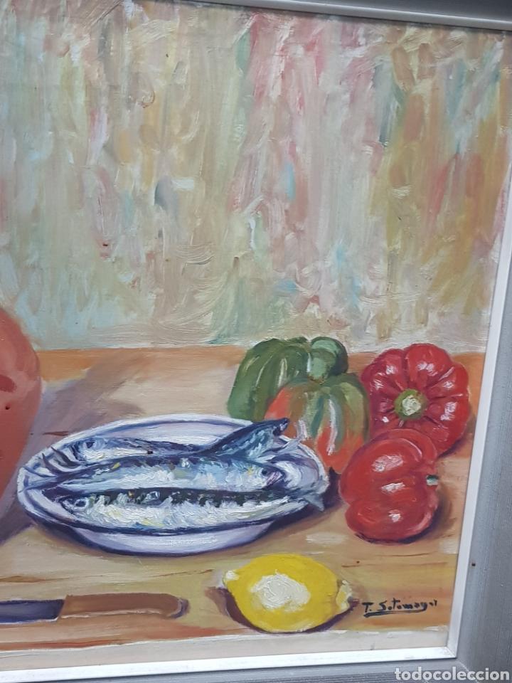 Arte: Óleo bodegón - Foto 5 - 158966261