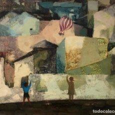 Arte: RAMON LLOVET - ÓLEO SOBRE TELA -. Lote 159038544