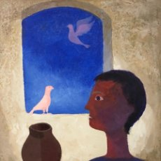 Arte: RAMON LLOVET -OLI SOBRE TELA -. Lote 159038933