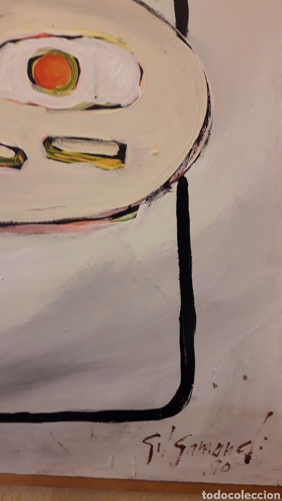 Arte: Cuadro del pintor Gil Gamundi pintor - Foto 2 - 159056857