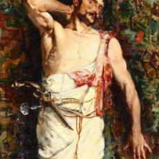 Kunst - Escuela Francesa del Siglo XIX. Oleo sobre Lienzo. Pintura Orientalista. - 159069910