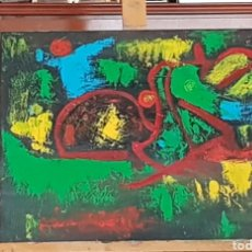 Arte: ABSTRACTO.ORIGINAL 40×50CM CATALINA FRANCO. Lote 159075226