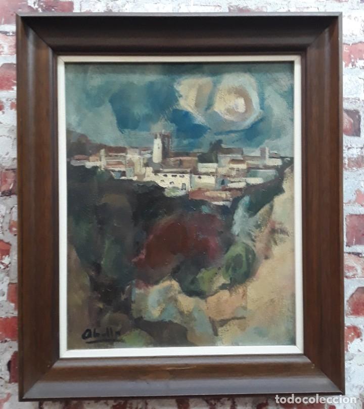 OLEO SOBRE LIENZO FIRMADO ABELLA (Arte - Pintura - Pintura al Óleo Contemporánea )