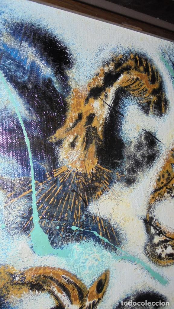 Arte: (M) DAU AL SET - JOAN JOSEP THARRATS 1918-2001 OLEO SOBRE LIENZO TEMA DE MUSICA ENMARCADO - Foto 6 - 159119766
