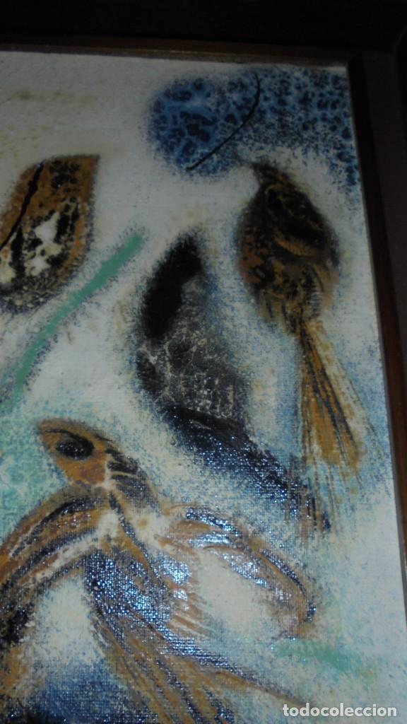 Arte: (M) DAU AL SET - JOAN JOSEP THARRATS 1918-2001 OLEO SOBRE LIENZO TEMA DE MUSICA ENMARCADO - Foto 8 - 159119766