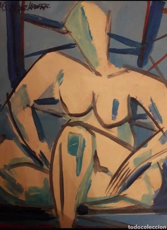 CUADRO PINTOR SANCHEZ LAREO MIGUEL PINTOR (Arte - Pintura - Pintura al Óleo Contemporánea )