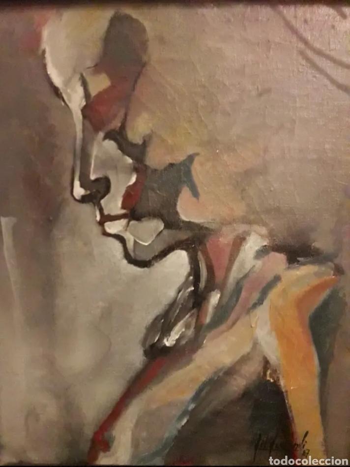 CUADRO ÓLEO LIENZO DEL PINTOR GIL GAMUNDI PINTOR (Arte - Pintura - Pintura al Óleo Contemporánea )