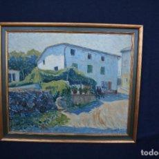Arte: SEBASTIA CONGOST ( OLOT,1919 - 2009 ) ESTUPENDO OLEO SOBRE TABLEX. 45 X 37. CTM , FIRMADO. Lote 159202238
