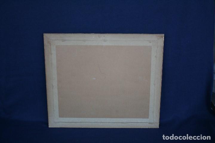 Arte: SEBASTIA CONGOST ( OLOT,1919 - 2009 ) ESTUPENDO OLEO SOBRE TABLEX. 45 X 37. CTM , FIRMADO - Foto 3 - 159202238