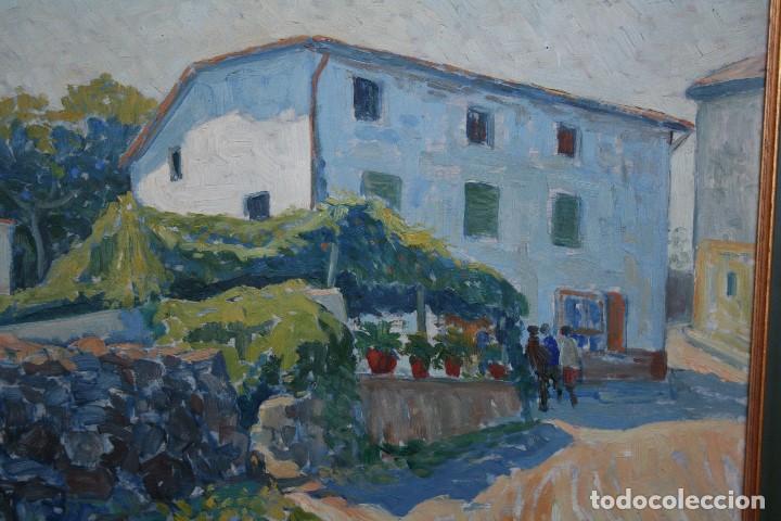 Arte: SEBASTIA CONGOST ( OLOT,1919 - 2009 ) ESTUPENDO OLEO SOBRE TABLEX. 45 X 37. CTM , FIRMADO - Foto 6 - 159202238