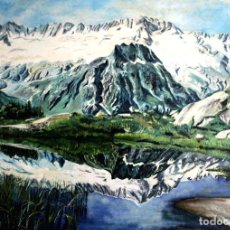Arte: MONTAÑA OBRA DE GILABERTE. Lote 159213414