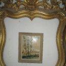 Arte: IMPRESIONISMO PINTURA IMPRESIONISTA FIRMADO SELLO DE GALERIA DE PARIS OLEO ORIGINAL. Lote 148612098