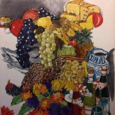 Arte: ORIGINAL DE ARJÉ 30X30 CMS. CATALOGADO Y SELLADO.. Lote 159400122