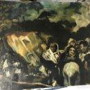 Arte: GOYA, ESCENA DE LAS PINTURAS NEGRAS. Lote 159408070