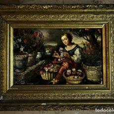 Arte: EXTRAORDINARIA ESCENA FLAMENCA EN COBRE . Lote 159411410