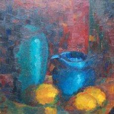 Arte: JOAN RAYMOND ( 1950'S-1960'S ) - BODEGÓN IMPRESIONISTA. Lote 159417354