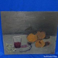 Arte: OLEO SOBRE 5ABLEX DE GRAN CALIDAD.ANONIMO.BUEN TRAZO.BODEGON.. Lote 159443818