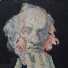 Kunst - OBRA ORIGINAL EXPRESIONISTA (1950'S) . ¡ IMPACTANTE ! - 159489886