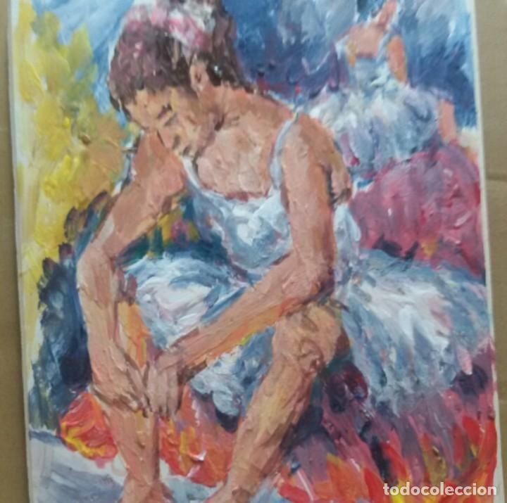 BAILARINA ORIGINAL (Arte - Pintura - Pintura al Óleo Contemporánea )