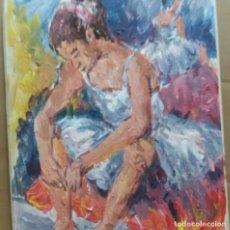Arte: BAILARINA ORIGINAL. Lote 159507614