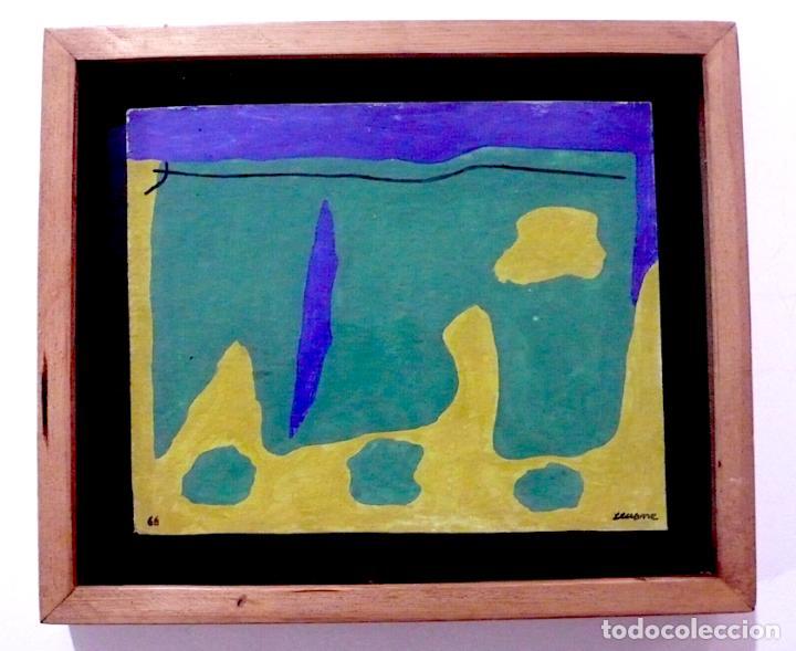 SEOANE, OLEO O ACRILICO, FIRMADO (Arte - Pintura - Pintura al Óleo Contemporánea )