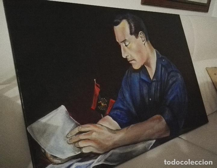 CUADRO OLEO DE JOSE ANTONIO PRIMO DE RIVERA (Arte - Pintura - Pintura al Óleo Contemporánea )