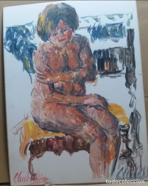 DESNUDO ORIGINAL (Arte - Pintura - Pintura al Óleo Contemporánea )